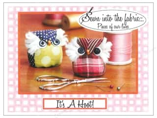 t pins: Sewn Into The Fabric It's A Hoot Pincushion Pattern