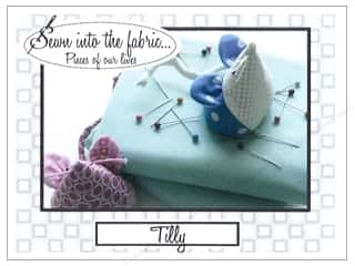 t pins: Sewn Into The Fabric Tilly Pincushion Pattern