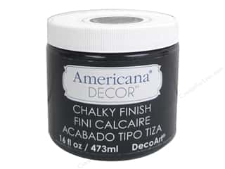 craft & hobbies: DecoArt Americana Decor Chalky Finish 16 oz. Carbon