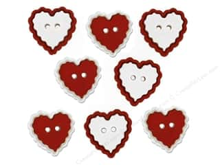 scrapbooking & paper crafts: Jesse James Dress It Up Embellishments Valentine Heart Of Mine