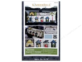 Kimberbell Designs Home Sweet Home Bench Pillow Pattern