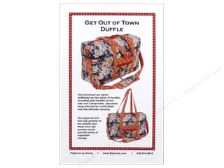 Purses: By Annie Get Out Of Town Duffle Pattern