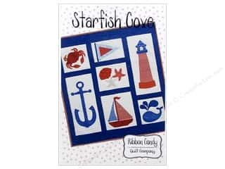 Quilt Company, The: Ribbon Candy Quilt Starfish Cove Pattern