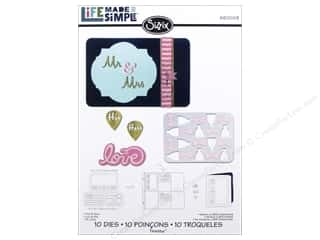 Sizzix Thinlits Die Set 10PK His & Hers by Rachael Bright