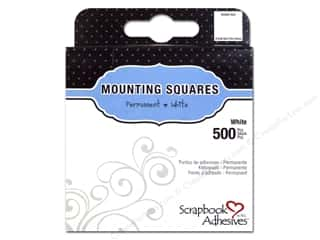 die cuts: 3L Scrapbook Adhesives Mounting Squares 500 pc. White