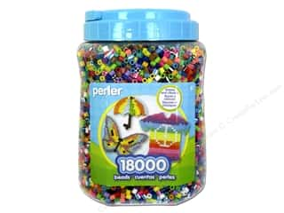 beading & jewelry making supplies: Perler Beads 18000 pc. Multi-Mix