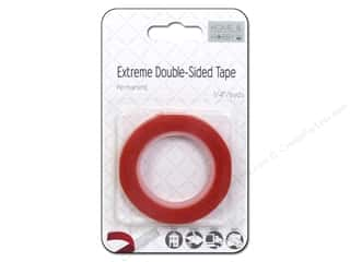 Double-sided Tape: 3L Extreme Double-Sided Tape 1/4 in. x 4.9 yd.