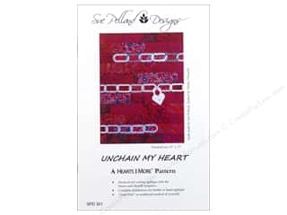 Clearance: Sue Pelland Designs Hearts And More Unchain My Heart Pattern