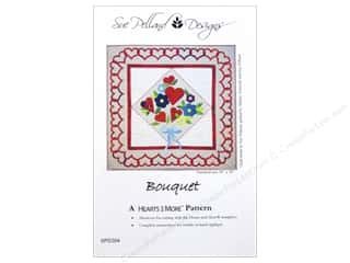 Sue Pelland Designs Hearts And More Bouquet Pattern