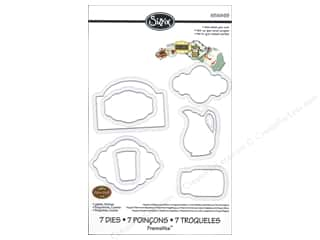 Sizzix Framelits Die Set 7PK Labels Kitchen by Eileen Hull