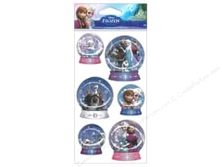 EK Disney Dimensional Stickers Frozen Snow Globe