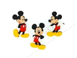craft & hobbies: Jesse James Dress It Up Embellishments Disney Mickey Mouse
