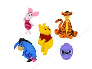 scrapbooking & paper crafts: Jesse James Dress It Up Embellishments Disney Winnie The Pooh