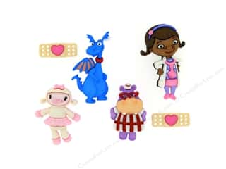scrapbooking & paper crafts: Jesse James Dress It Up Embellishments Disney Doc McStuffins