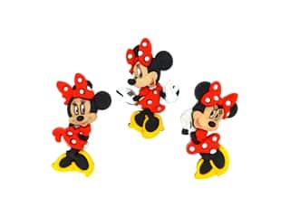 craft & hobbies: Jesse James Embellishments - Disney Minnie Mouse