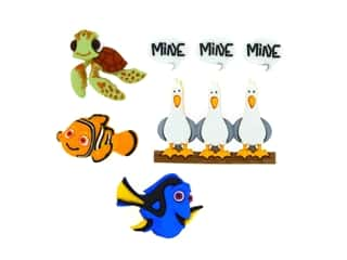 craft & hobbies: Jesse James Dress It Up Embellishments Disney Finding Nemo