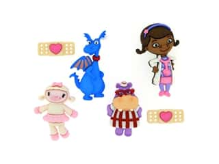 craft & hobbies: Jesse James Dress It Up Embellishments Disney Doc McStuffins