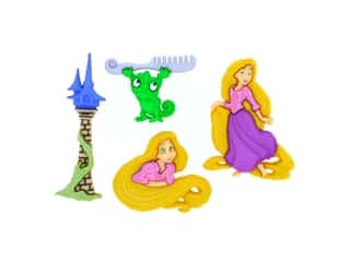 craft & hobbies: Jesse James Dress It Up Embellishments Disney Rapunzel