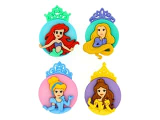 novelties: Jesse James Embellishments - Disney The Princesses