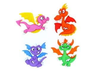 craft & hobbies: Jesse James Dress It Up Embellishments Dragon Tale