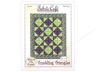 books & patterns: Fabric Cafe Tumbling Triangles 3 Yard Quilt Pattern