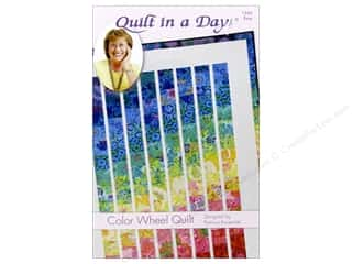 Quilting: Quilt In A Day Color Wheel Quilt Pattern