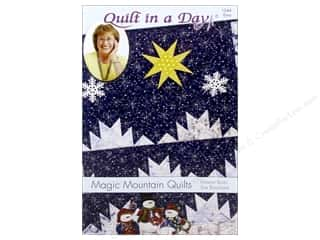 books & patterns: Quilt In A Day Magic Mountain Quilts Pattern