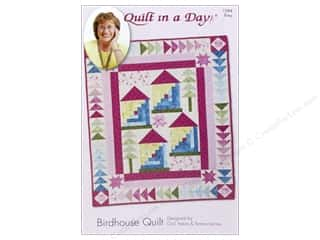 Quilt Pattern: Quilt In A Day Birdhouse Quilt Pattern