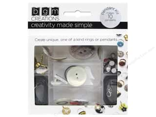 beading & jewelry making supplies: Buttons Galore BGM Creations Teen Pendant Kit