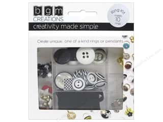 beading & jewelry making supplies: Buttons Galore BGM Creations Teen Ring Kit