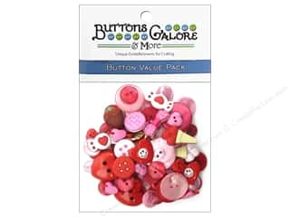 Buttons Galore Value Pack Valentine