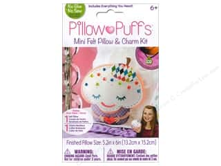 Weekly Specials Darice ArtLover Kits: Darice Pillow Puff Felt & Charm Kit Mini Cupcake Pillow