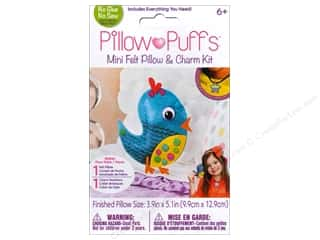 Weekly Specials Halloween Stickers: Darice Pillow Puff Felt & Charm Kit Mini Bird Pillow
