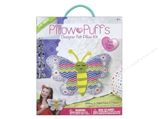weekly special pillow: Darice Pillow Puff Felt Kit Designer Big Butterfly