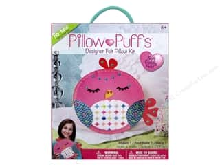 Weekly Specials Halloween Stickers: Darice Pillow Puff Felt Kit Designer Big Bird