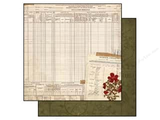 Bo Bunny 12 x 12 in. Paper Heritage Census (25 sheets)