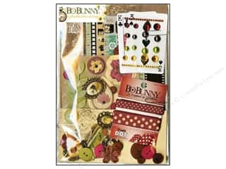 Best of 2012 Bo Bunny Paper & Sticker Collection Pack: Bo Bunny Ephemera Heritage