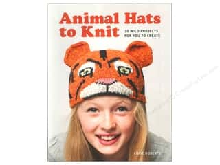 knitting books: Guild of Master Craftsman Animal Hats To Knit Book