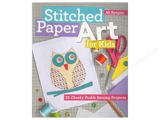 Weekly Specials C & T Publishing: FunStitch Studio By C&T Stitched Paper Art For Kids Book