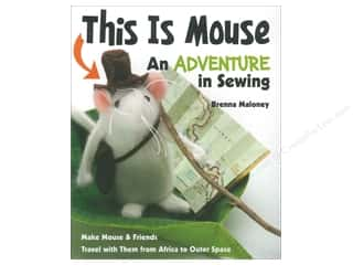 FunStitch Studio By C&T This Is Mouse Book