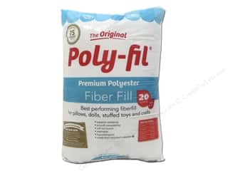 craft & hobbies: Fairfield Fiber Poly Fil 20oz Bag