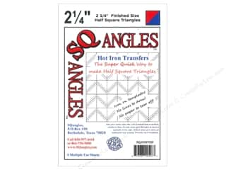 sewing & quilting: SQangles Half Square Triangles 2 1/4 in. Finished Size