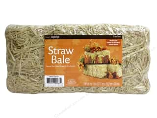 "craft & hobbies: FloraCraft Straw Bale 13""x 6""x 5"" Package"
