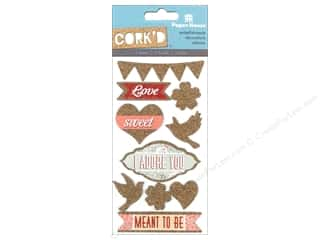 stickers: Paper House Sticker Cork Meant to Be