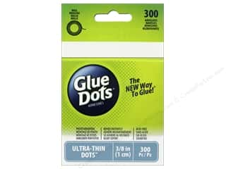 Glue Dots: Glue Dots Roll Ultra Thin 3/8 in. 300 pc.