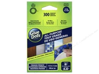Glue Dots: Glue Dots All Purpose 1/2 in. 300 pc.