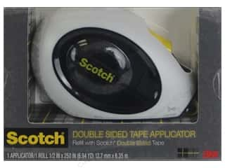 "tape runner: Scotch Tape Runner Double Sided Applicator 1/2""x 250"""