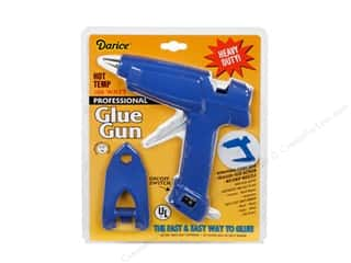 Hot glue gun and glue sticks: Darice Glue Gun Full Size Professional High Temp 100 Watt