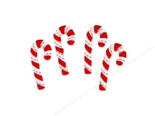 Darice Felties Sticker Christmas Candy Cane 28pc Picture