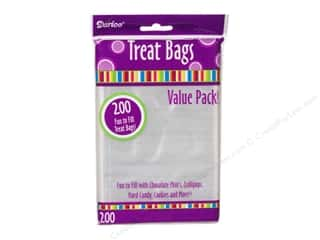 craft & hobbies: Darice Treat Bags 3 3/4 x 6 in. Clear 200 pc.